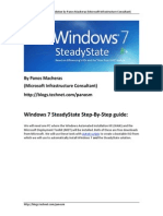 Step by Step Guide to Windows 7 Steady State