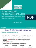Foro Automotriz y Autopartista Ministerio de Industria(1)