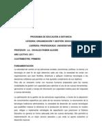 Programa Organizacion y Gestion Educativa