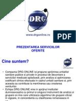 Prezentare Drg Online