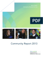 Allina Health EMS Community Report 2013