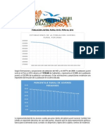 Poblacion Juvenil Rural en El Peru Al 2014