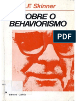Sobre o Behaviorismo Completo