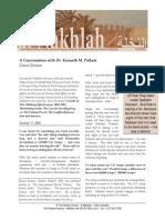 Benaim - A Conversation with Dr. Kenneth M. Pollack