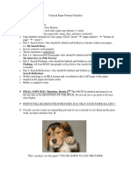 i-search format and rubric