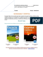 Boletin Informativo Servicios 1-2014