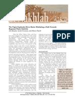 Ali Akanda, Sarah Freeman, Maria Placht - The Tigris-Euphrates River Basin