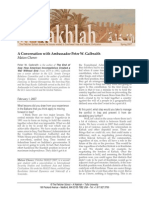 Chorev - A Conversation with Ambassador Peter W. Galbraith