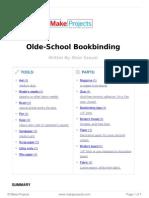 Olde School Bookbinding