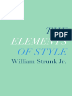 William Strunk, E. B. White - The Elements of Style.epub