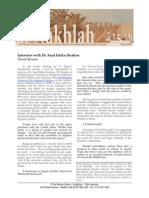 Benaim - A Conversation with Dr. Saad Eddin Ibrahim