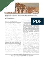 Hessbruegge - The Shanghai Cooperation Organization