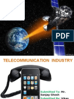 Telecommunication industry