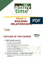 Week 2 Building Relationships