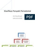 Klasifikasi Penyakit Periodontal Part 1