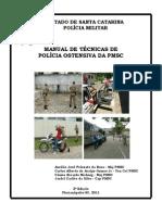 MANUAL DE TÉCNICAS DE POLICIA OSTENSIVA PM SC