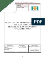 Administracion de Farmacos HH