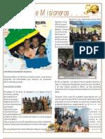 Boletin 122 Informe Misionero de Tanzania Septiembre 2009