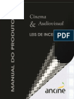 Ancine - Manual Do Produtor - Lei Do Audiovisual