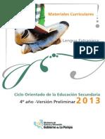 DC2013 Lengua Extranjera Ingles 4vPreliminar