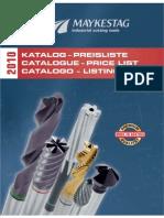 Catálogo Maykestag