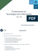 Sesión 3 - Presentación de tipología de Sistemas de Información