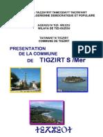 Présentation de la commune de Tigzirt