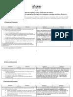 candidate portfolio evidence sheet