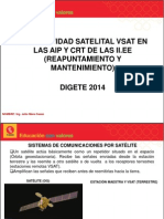 926e1d-Conectividad Satelital Vsat en Las Aip y Crt de Las II.ee (Servidor y Estaciones)