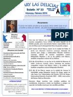 Boletin Rotary N° 33 Febrero 2014