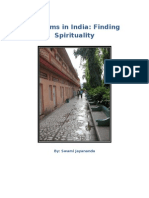 Ashrams in India | Finding spirituality. Swami Jayananda