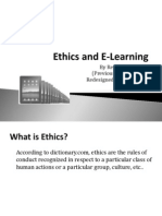 ethics and e-learning
