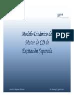 2011_02 - MCI2B - 04 - Presentación - Dinámica del motor de CD