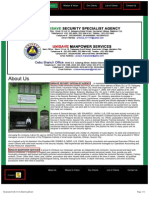 Manpower and Agency Services - Unisave Security Specialist