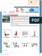 Office Cabinets_Furnitures_Lifting Equipments - TFE Sales