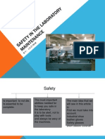 Safety in the Laboratory Maintenance