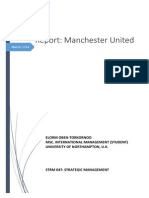 Analysis of Manchester United Business