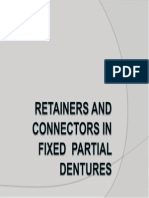 Retainers and Connectors in Fixed Partial Dentures