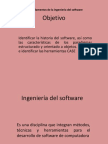 Ingeniería del softwareA