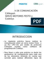 PRÁCTICA DE COMUNICACIÓN CANopen