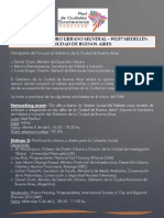 Agenda de Buenos Aires en el Foro Urbano Mundial