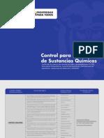 Control de Administración para el manejo de sustancias químicas