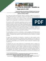 """La educación en el Plan de Desarrollo """"Medellín un lugar para la vida"""