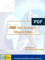 CMMI®- mejora del proceso en Fábricas de Software.2006