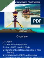 LASER Land Leveling in Rice Farming