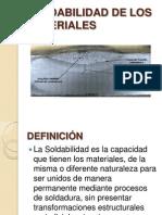 4. Soldabilidad de Los Materiales