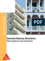 Concrete Balconystructures