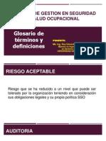 SGSST Glosario de Terminos