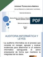 AUDITORIA INFORMATICA Derecho Informatico.pptx