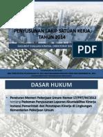 B. Penyusunan LAKIP Satuan Kerja Tahun 2014-KASUBDIT EK